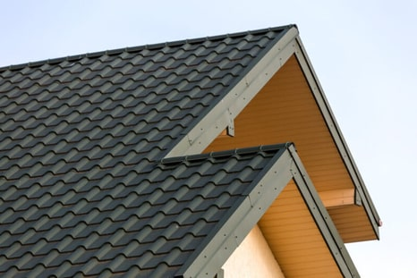 A newly installed roof